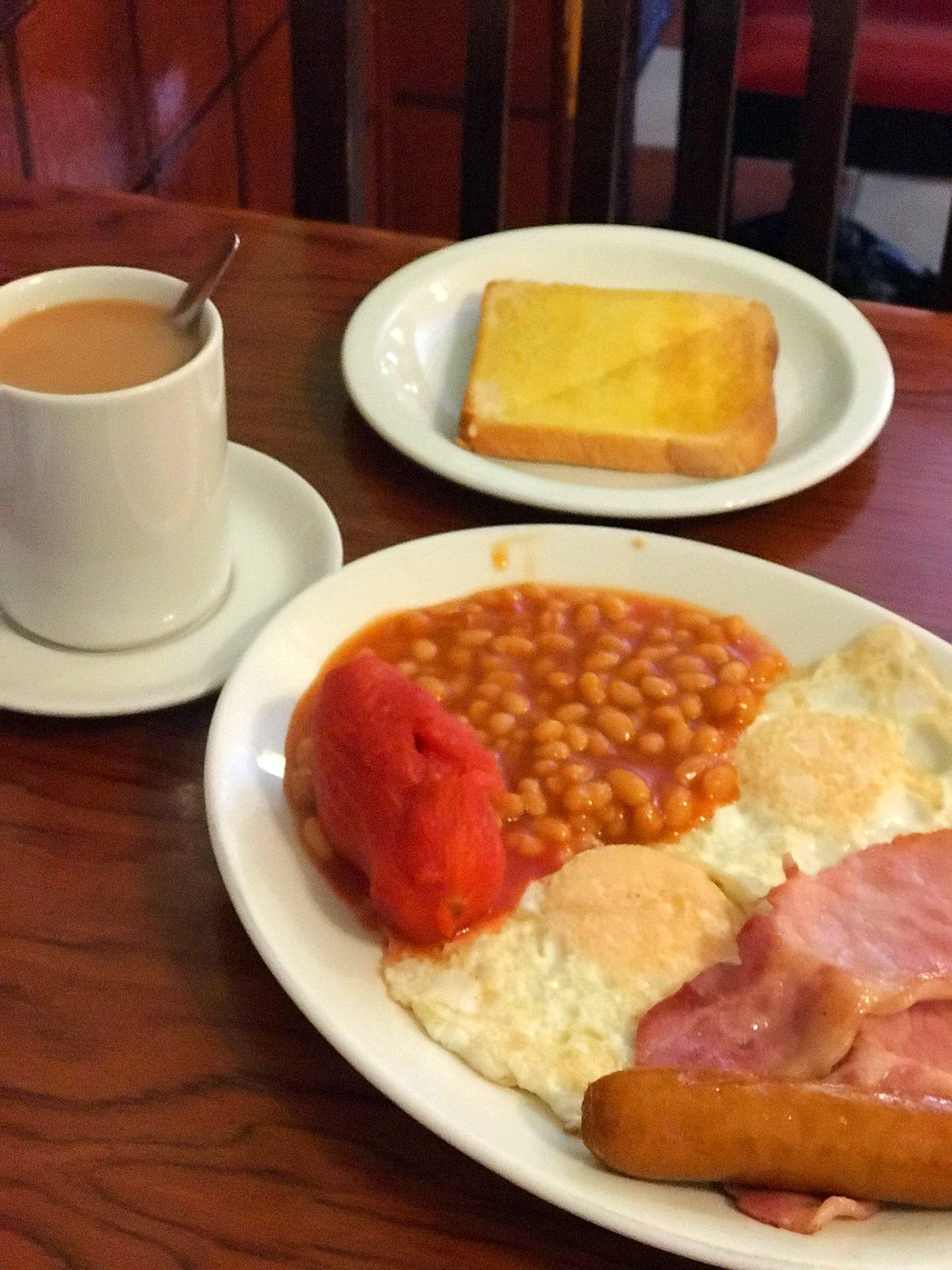 Sherlock speedys cafe London Breakfast