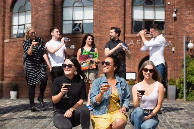 Glasgow cocktail weekend August 2018