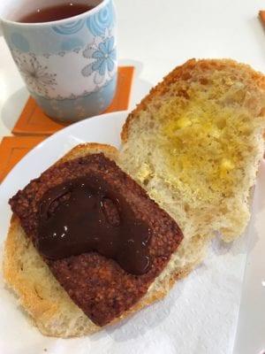 Robyn's nest cafe Maryhill Still Game breakfast