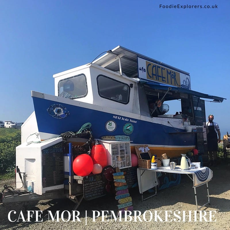 Food review: Cafe Môr, Pembrokeshire, Wales