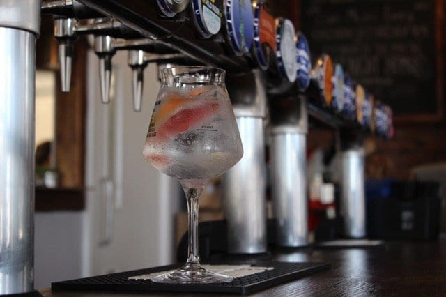 Deeside distillery gin and tonic