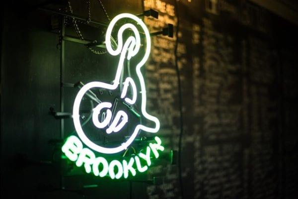 Brooklyn brewery bus baad Glasgow