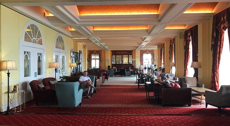 The headland hotel Newquay cornwall foodie Explorers