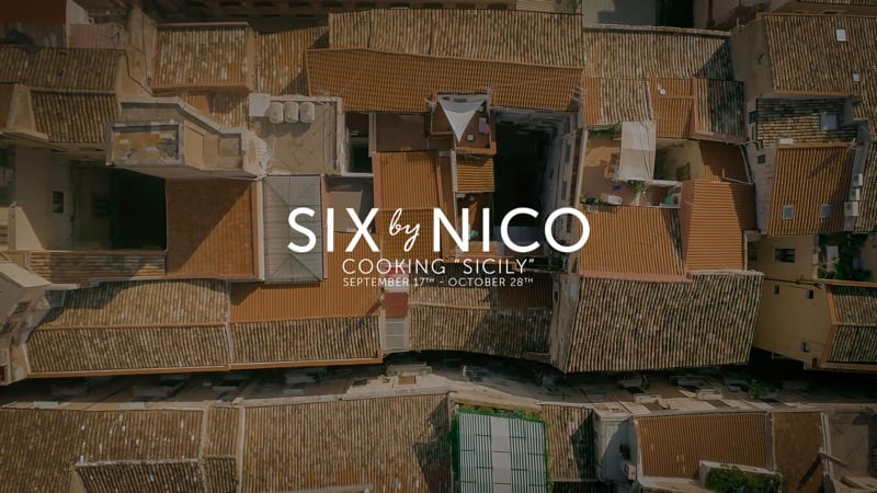 Eat your way through Sicily at Six by Nico