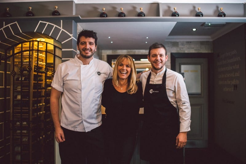 News: Carol Smilie puts her TRUST in chef Nico Simeone