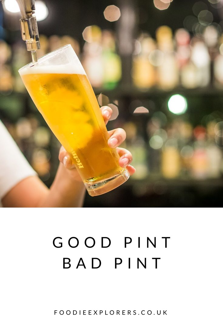 Good pint bad pint line cleaning