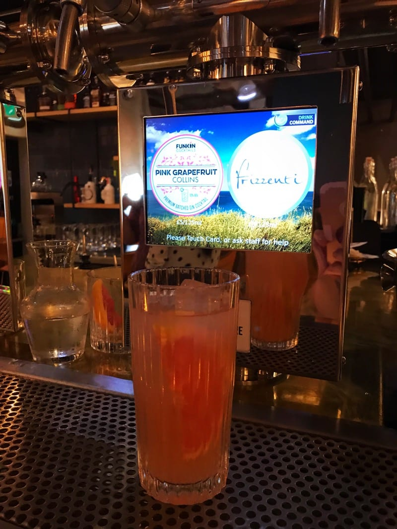 Stack and still cocktails beer self dispensing bar