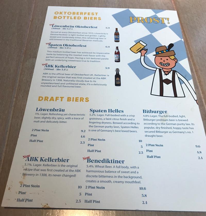 Döner haus glasgow Oktoberfest