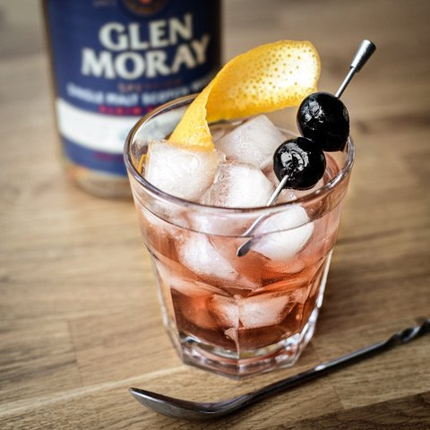 Glen moray Elgin Classic old fashioned cocktail Recipe