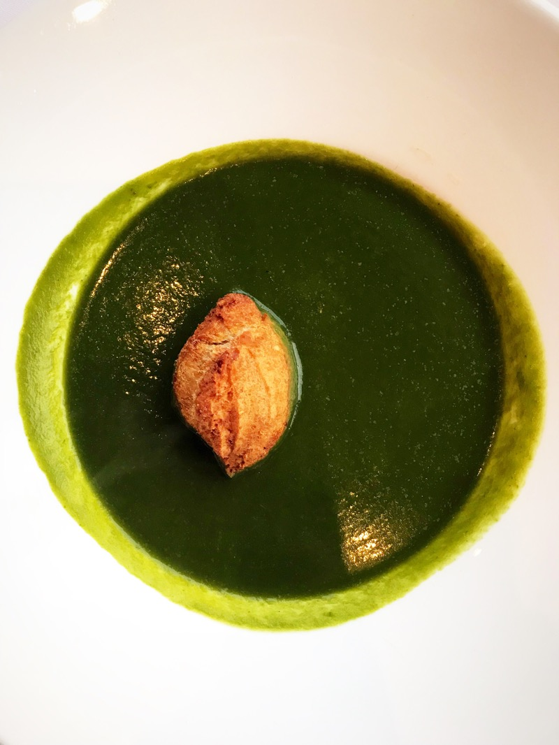 Headland Hotel - Wild Garlic Soup