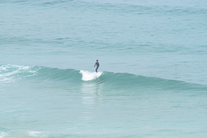 The Headland Hotel - surfing view