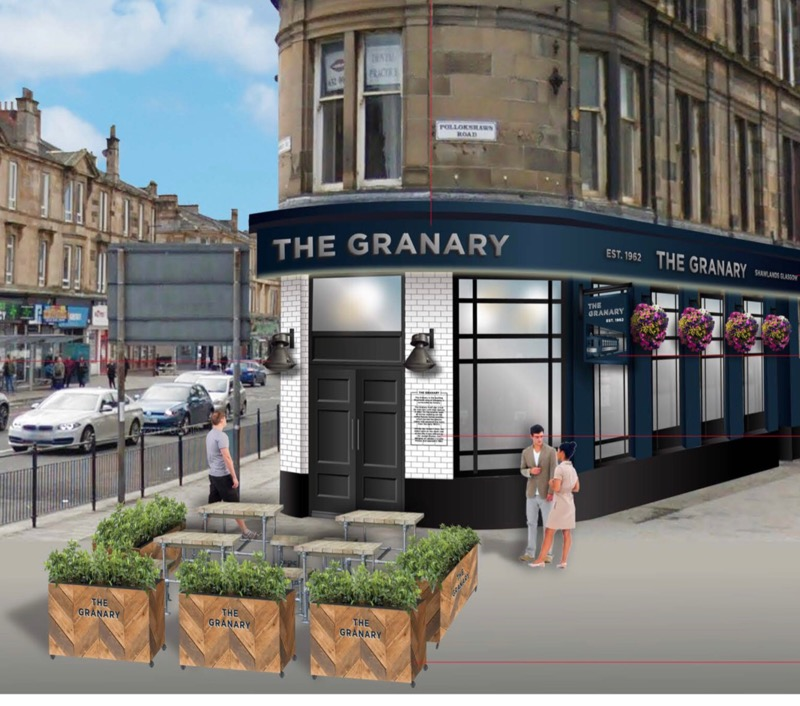 The Granary pub bar Shawlands