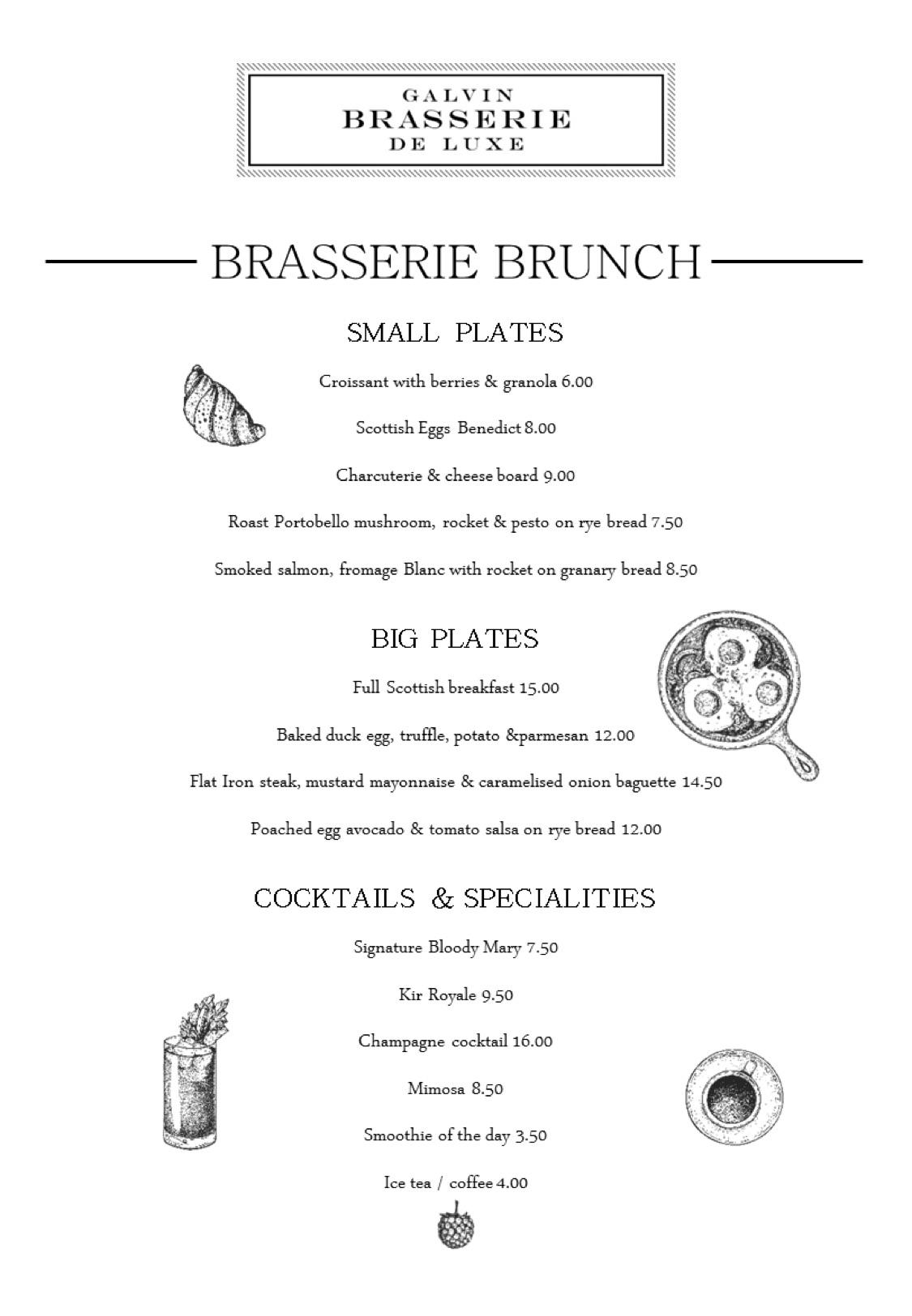 Galvin brasserie brunch weekend food edinburgh