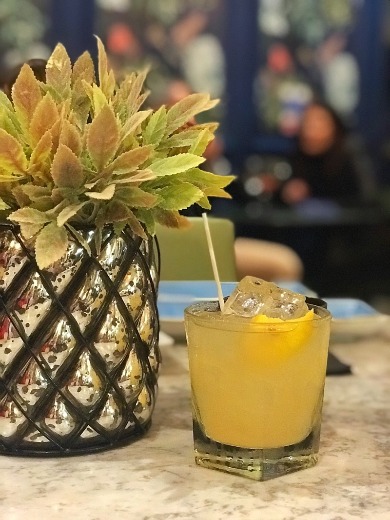 True scot Winter cocktail menu champagne central