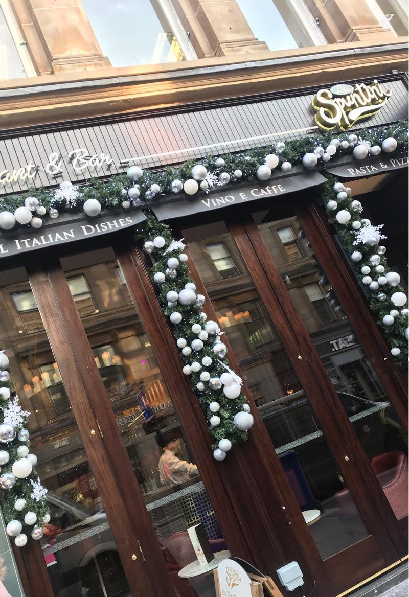 La Vita spuntini gordon street Glasgow