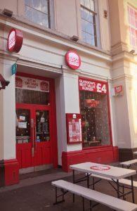 BRGR Royal exchange Square glasgow