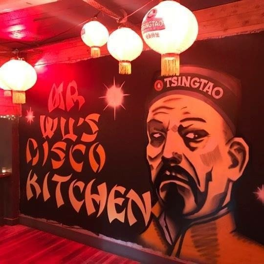 Mr Wu's Disco Kitchen Launch Party