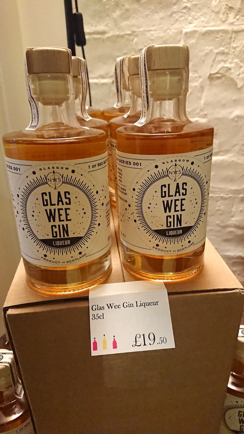 good spirits co glas wee gin glasgow school of art gin