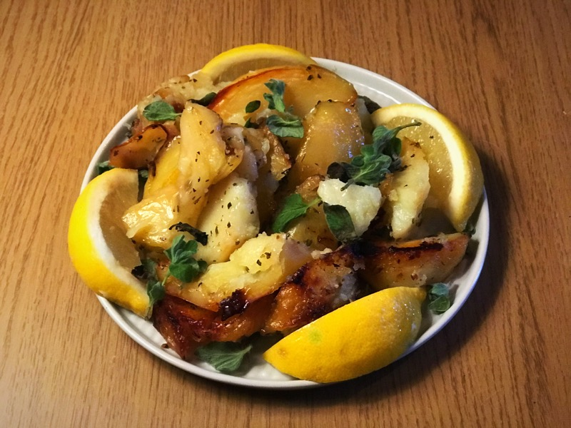 Recipe: Greek Style Roasted Potatoes