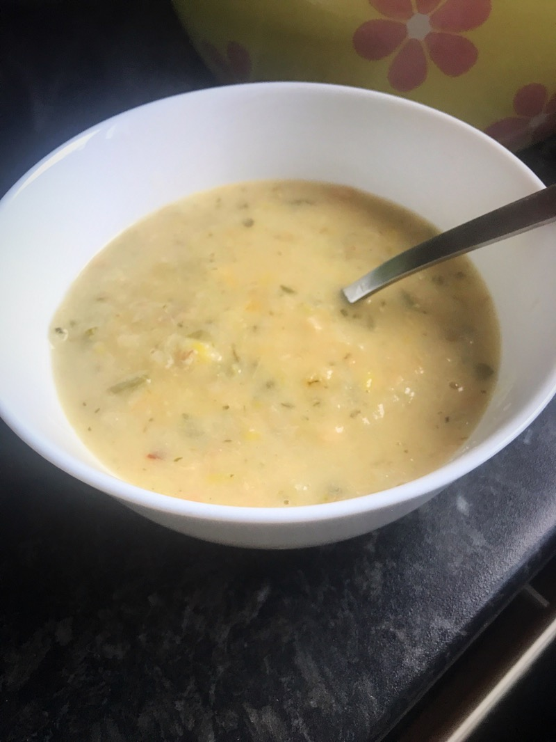 The Hebridean Fish Co smoked salmon chowder