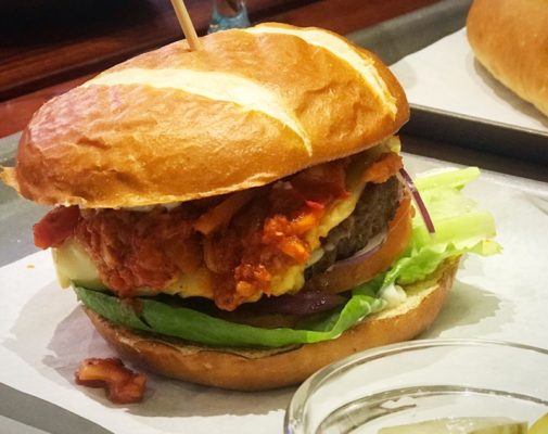 Bath Street burger vegan review foodie explorers