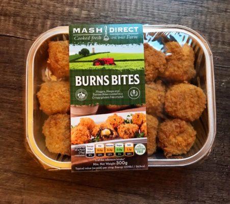 Burns night Haggis bites