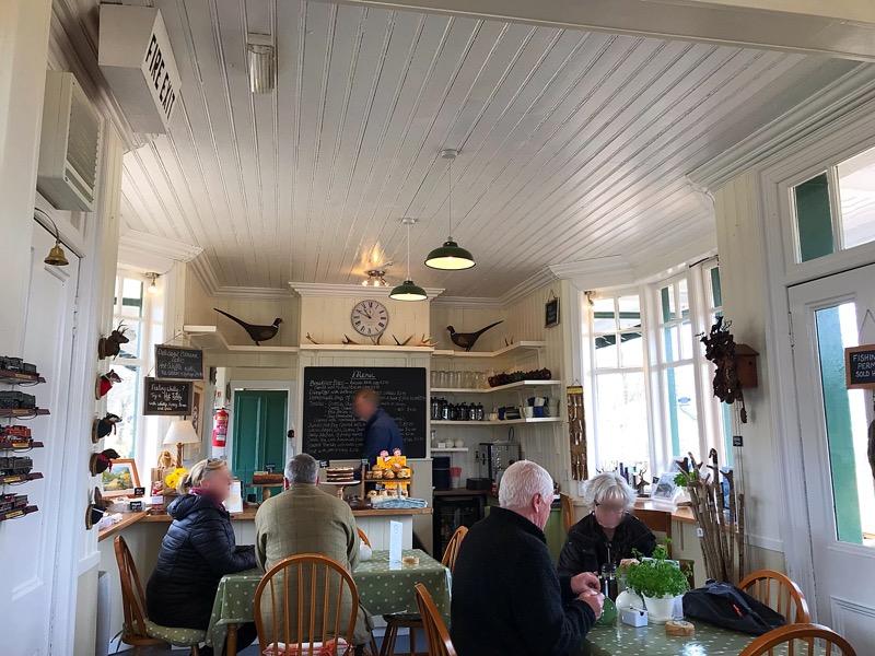 Rannoch Station Tearoom foodie Explorers