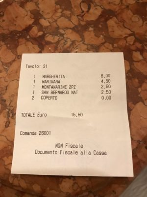 Vincenzo capuano pizzeria Naples