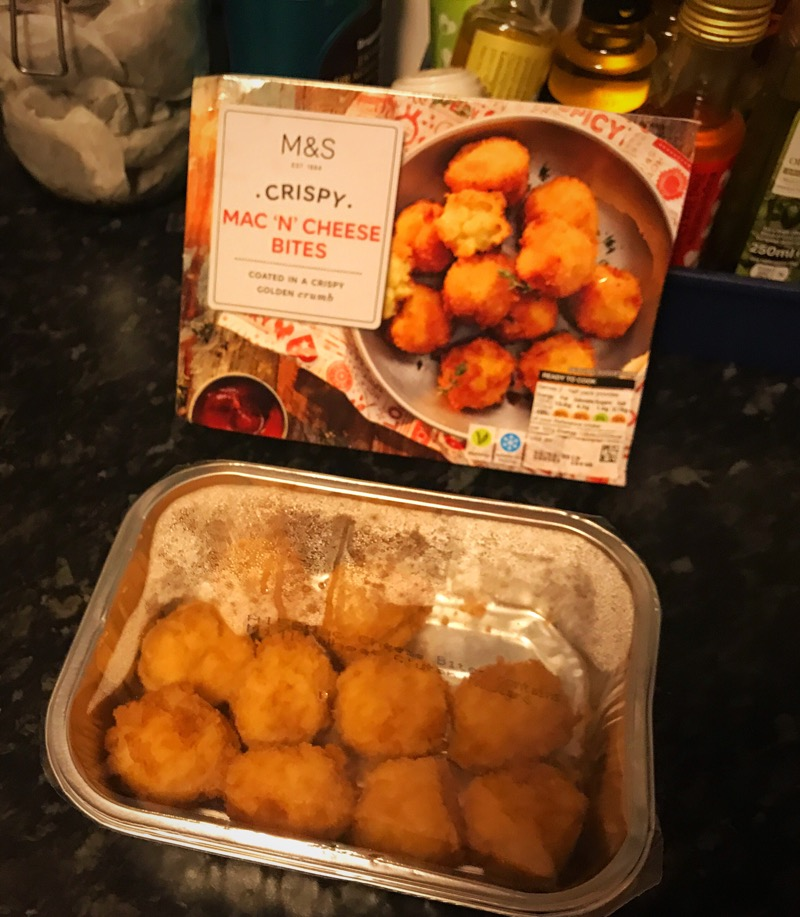 M&S Mac n cheese bites product review