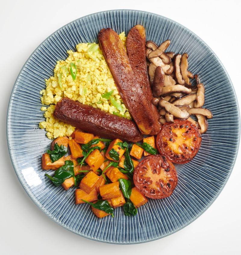 Glasgow foodie Explorers Wagamama vegan breakfast