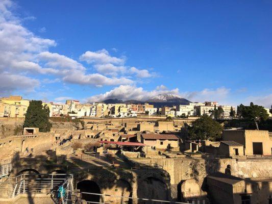 Glasgow foodie Explorers Naples Herculaneum Ercolano Italy