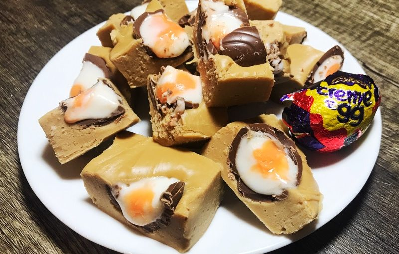 Recipe: Creme Egg Fudge