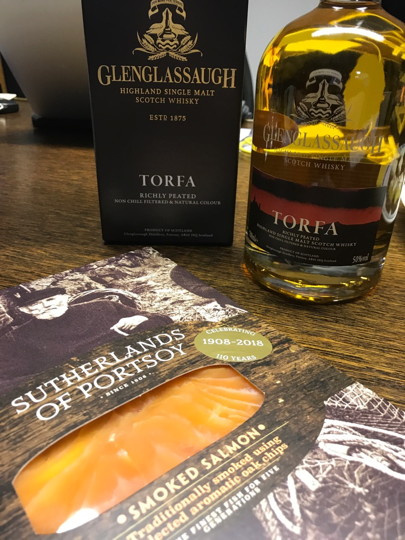 sutherands of portsoy and glenglassaugh smoked salmon