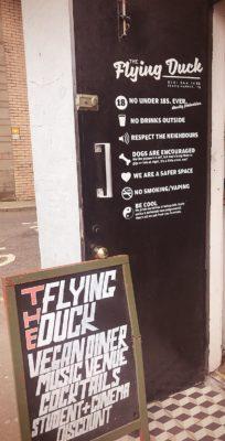 outsidevegan food flying duck glasgow foodie explorers