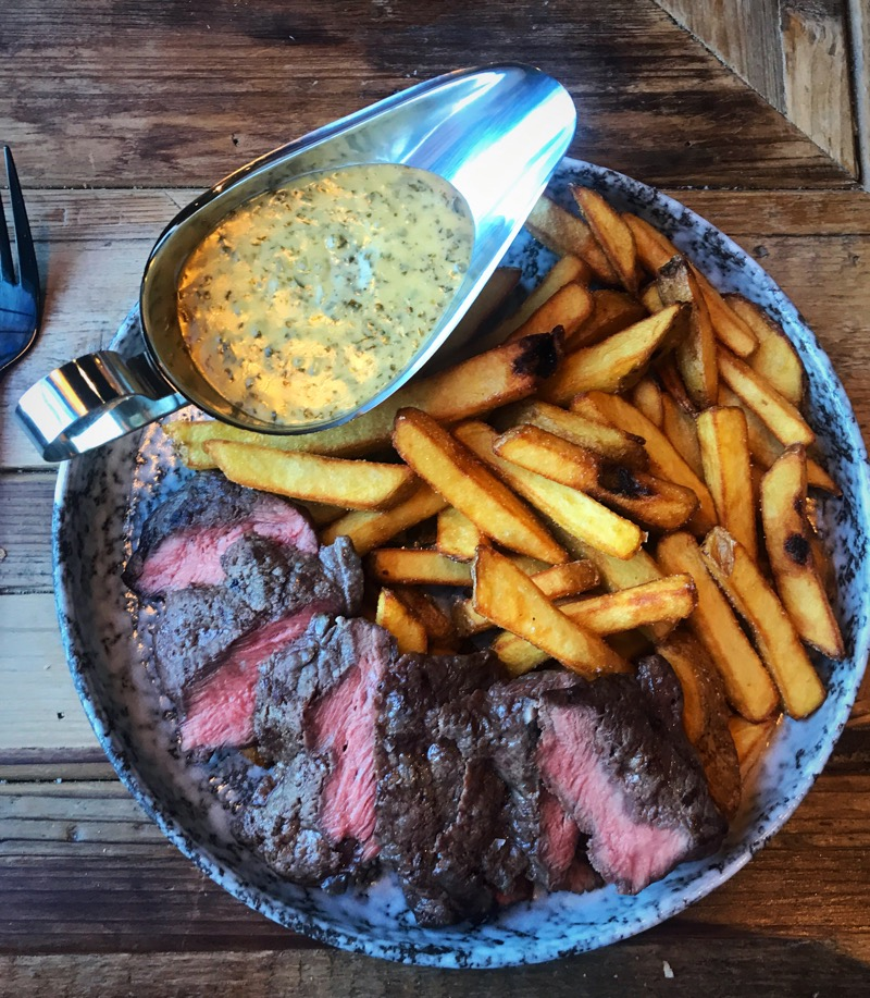Brasserie Ecosse Steak frites Main course