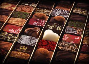 Chocolate flights Iain Burnett master chocolatier