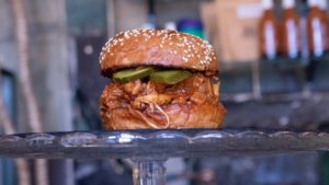 Mad chef Durty vegan burger club