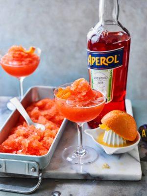 Waitrose Aperol froze cocktail Recipe