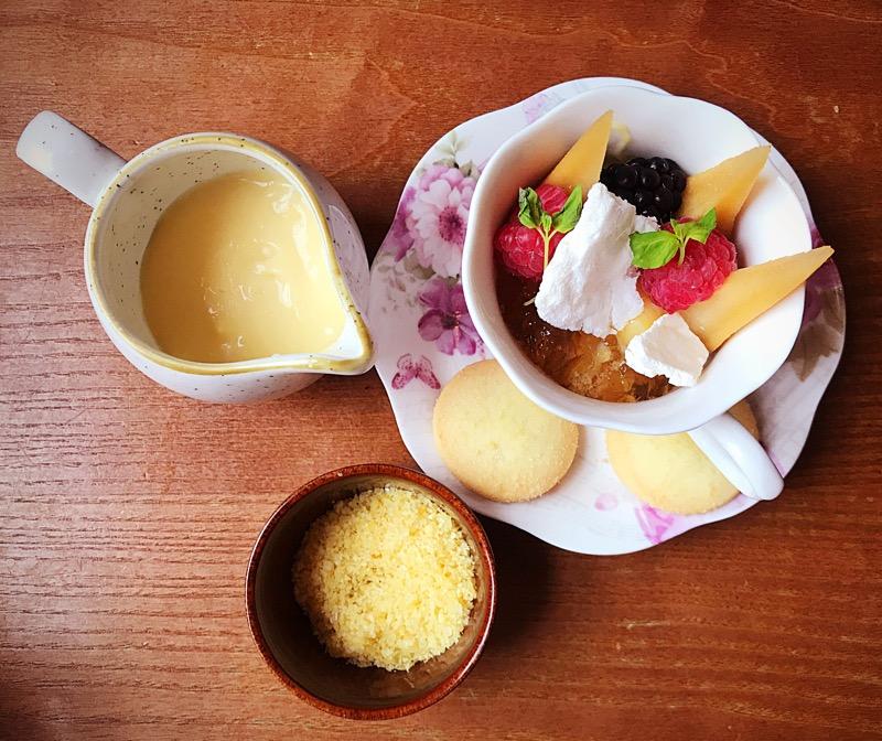 Badger and co Edinburgh dessert