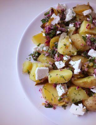 Greek potato salad recipe