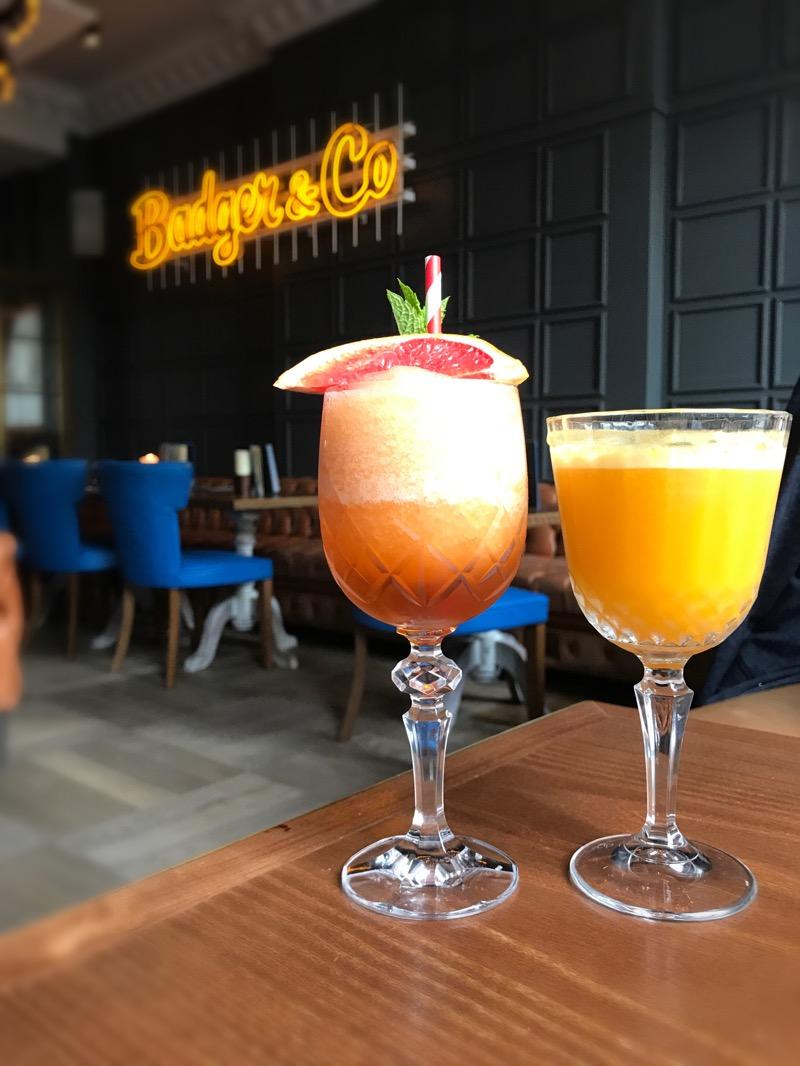 Badger and co Edinburgh Cocktails