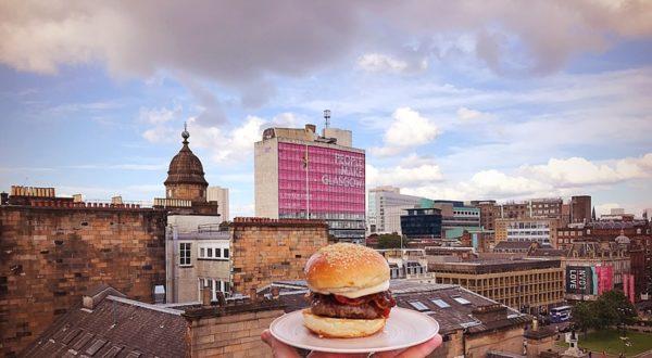 El Perro negro native Glasgow top dog burger