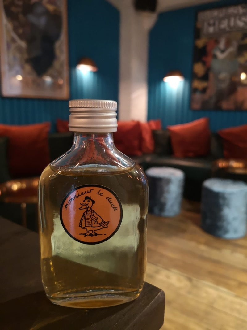 Monsieur le duck fat armagnac London