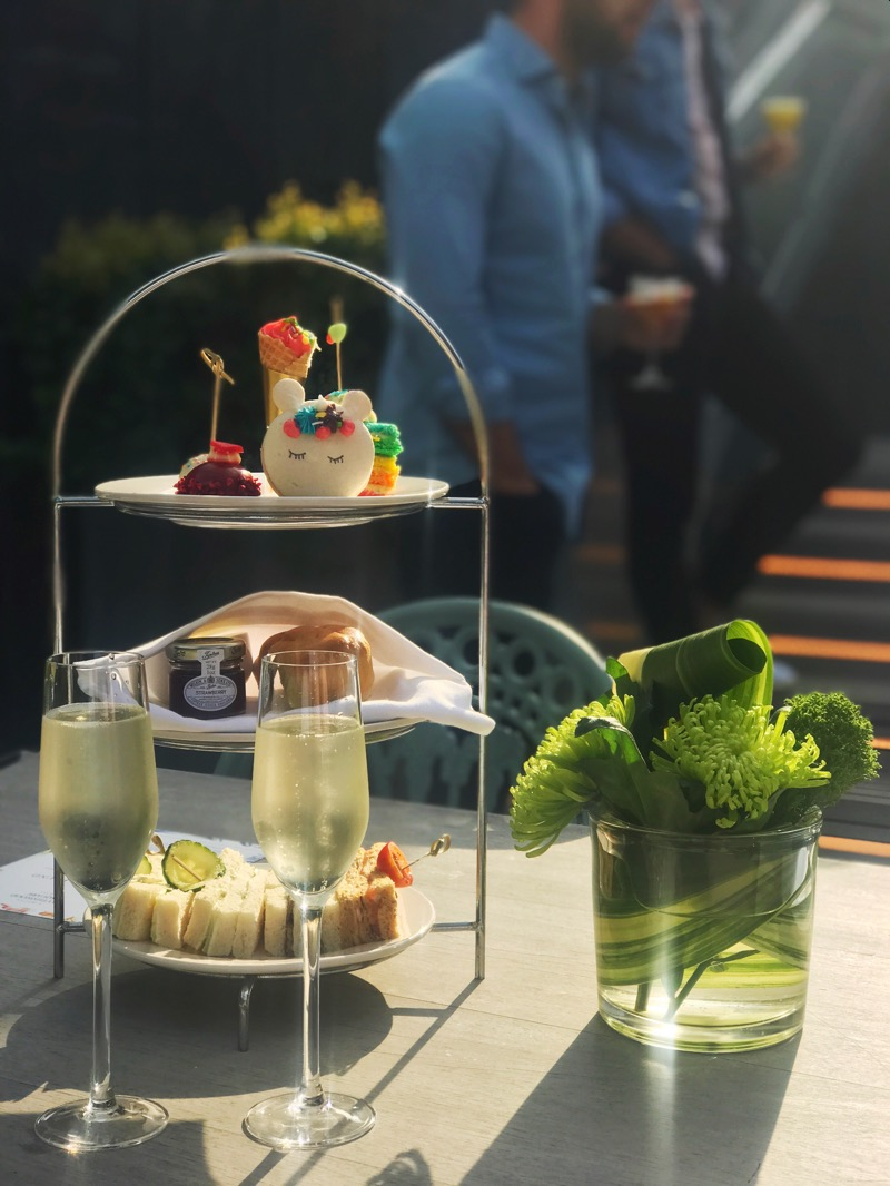 Kimpton Blythswood Square Hotel Glasgow Pride afternoon tea