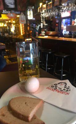 Dicke wirtin pub Berlin pickled egg