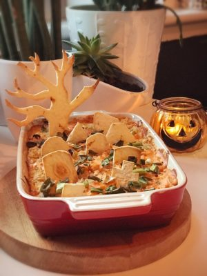 Graveyard Bake Halloween food