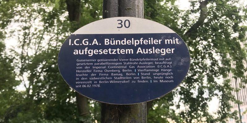 Gas light museum Berlin