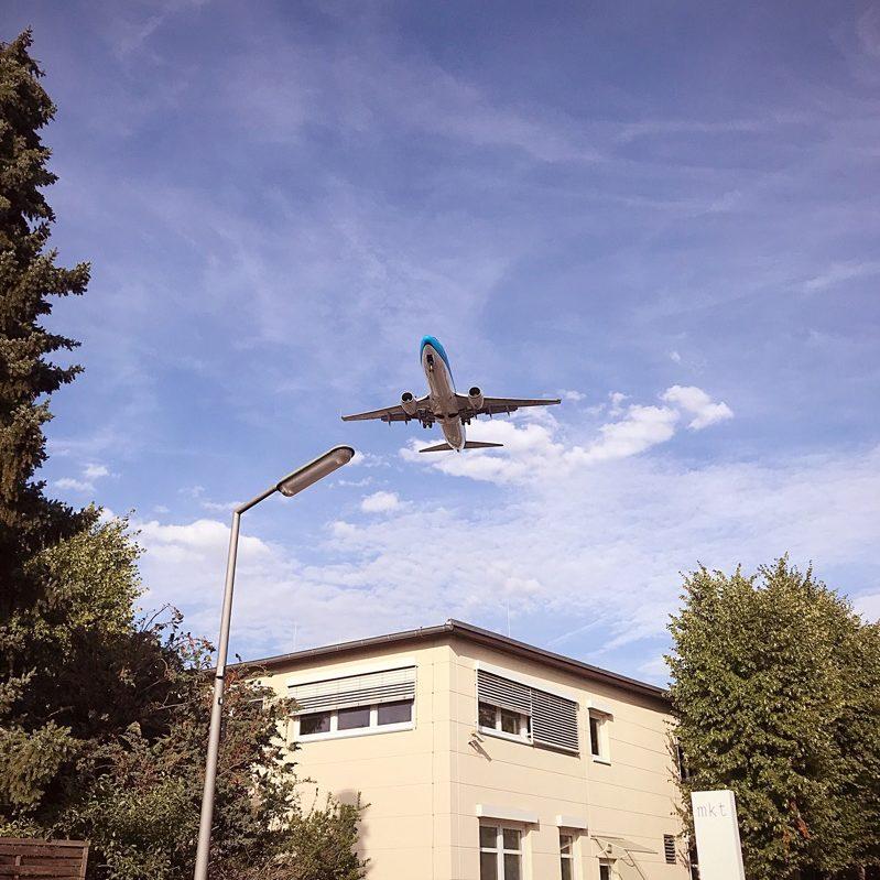 Meteorstrasse Berlin tegel Airport