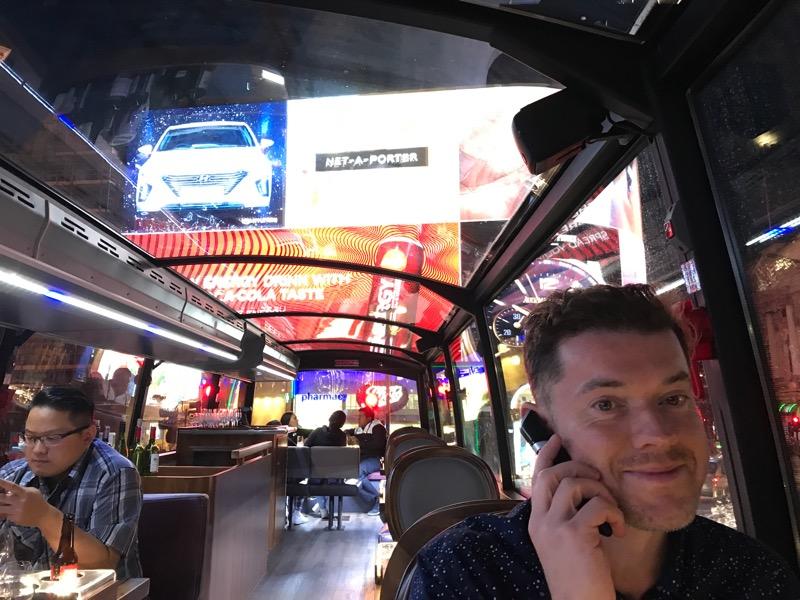 bustronome london gastro bus tour