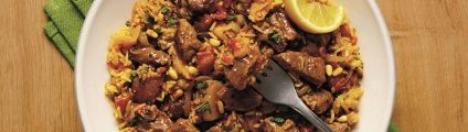 Scotch lamb pilaf recipe